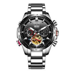 Relógio automático masculino original Senors EXCLUSIVO