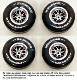 Rodas BBS Stock Car Para Automodelos 1/8 e 1/10 Com Sextavados de 12mm