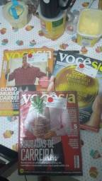 Revistas - Você S/A são 6 Revistas Lacradas e 3 Revistas Brinde