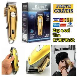 Máquina para corta cabelo Kemei Km-1986 PG bateria 2200amh