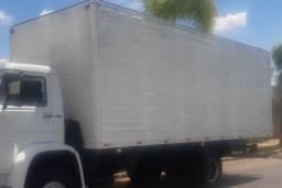 Bau de Alumínio 7,40 mts com porta lateral em ótimo estado em 10x sem juros