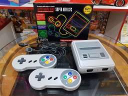 Mini Sfc Super 621 Jogos Classicos 8 Bits Bivolt
