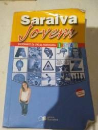 Dicionário Saraiva Jovem - (Semi-Novo)
