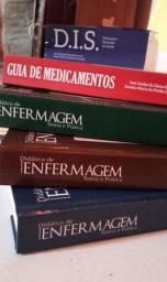 Kit de livros didáticos de Enfermagem