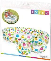 Piscina Inflável Infantil Abacaxi Intex