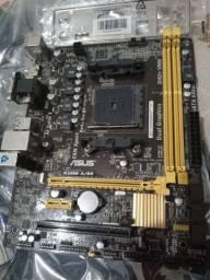 Placa mãe + processador  A58m-A/BR fm2 + processador AMD A4-4000 SERIES + COOLER PROMOÇÂO