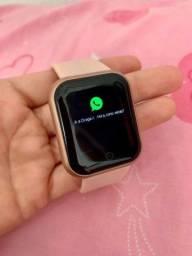 Relógio SmartWatch D20 Pro - NOVO (Monitoramento de saúde, redes sociais, esportes)