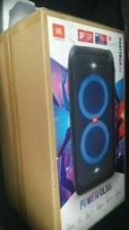 Caixa de som JBL PARTYBOX 100 LACRADA