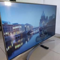 Tv LG 55P+Bordas Cromadas+4K+hdr10+C/de Voz,No Cartão é 2.400 Não pego trocas