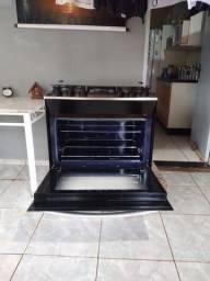 Fogão  da   brastemp  cemi   novo   forno  nunca   usado   dupla chama