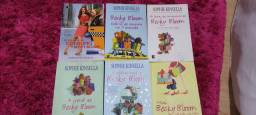 Livros Sophie Kinsella, Meg Cabot e Victoria Aveyard