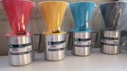 Título do anúncio: Canecão C/ Porta Filtro 1 Litro café cozinha