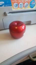 Porta joia formato de maçã