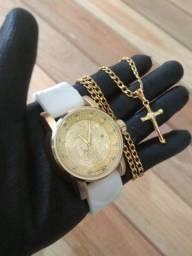 Relógio modelo Yakuza mais cordão