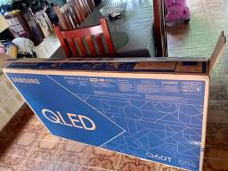 """Samsung Smart TV QLED 4K Q60T 55"""" Controle Único, 5 dias de uso"""