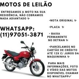 MOTOS DE LEILÃO