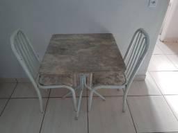 Mesa de mármore 02 lugares (70x70)