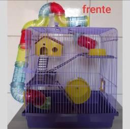 Gaiola /casa de hamster super luxo