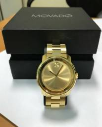 0b0945b89cc Relógio Movado Masculino Aço Dourado