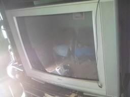 Televisão 29 polegada, mas conversor