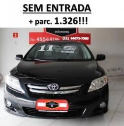 Toyota Corolla 2011 1.8 GLI flex 4p automatico - 2011