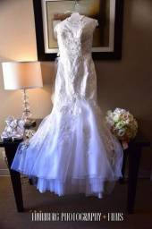 Vestido de noiva ( importado ) 2.000$