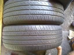 Pneus, 205-55R17, pneus mas de meia vida bons pra passar em Barreiras e vistoriar