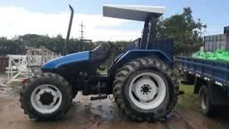 Trator Agrícola New Holland 2010- Modelo TL75E