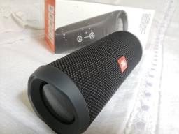 Caixa Som Bluetooth JBL flip 4 Preta Nacional Original - Nova Sem Uso - Trocas!