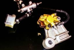 XRE 300 sistema de freio traseiro completão