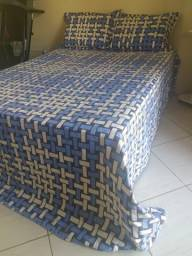 Vendo cama de casal Ortobom com colchão