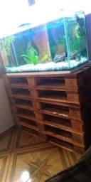 Vidro de aquário
