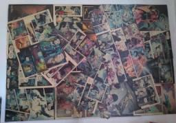 Quadro de páginas de quadrinhos