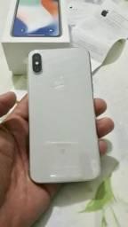 IPhone X prata 64 gigas V/ T POR IPHONE 8 Plus