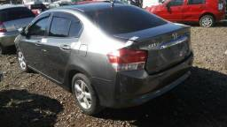 Motor parcial Honda City 1.5 116cvs Flex 2011 Original