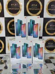12 x R$: 127,90 Xiaomi Redmi Note 9 64gb - Lacrado- Nota Fiscal- Garantia