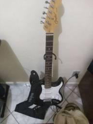 Guitarra e pedaleira pra sair hoje