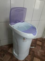 Máquina de lavar Wanke Lis 4 KG + Fogão 4 bocas Braslar