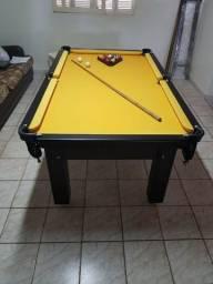 Mesa Tentação de Redes Cor Tabaco Tecido Amarelo Mod. BLSM6359