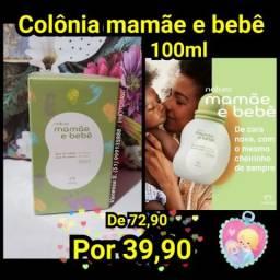 Colônia mamãe e bebê natura 100ml PRONTA ENTREGA