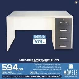 Mesa para computador entrega grátis em toda Manaus