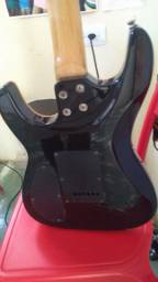 Guitarra Memphis by tagima + Mini Amplificador Marshall MS2