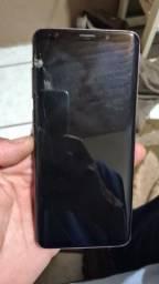 Samsung S9+ tela quebrada
