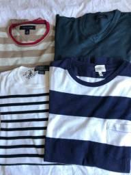 Suéters tam M - Zara / Tommy / Ralph Lauren