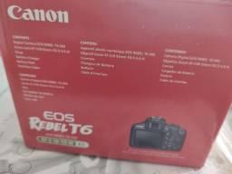 Câmera Canon EOS T 6