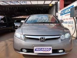 Honda Civic LXS FLEX AUTOMÁTICO COURO Som Original