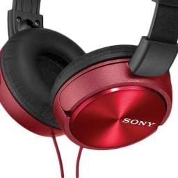 Fone de Ouvido Sony MDR-ZX310AP/RQCE7 Headphone Vermelho