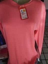 Camisa térmica fator de proteção 50 UV+