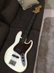 Raríssimo Squier Classic Vibe Jazz bass olympic white