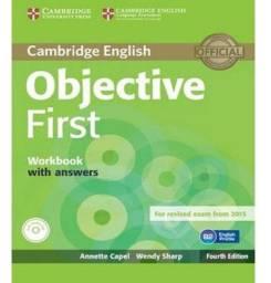Livro preparatório FCE inglês